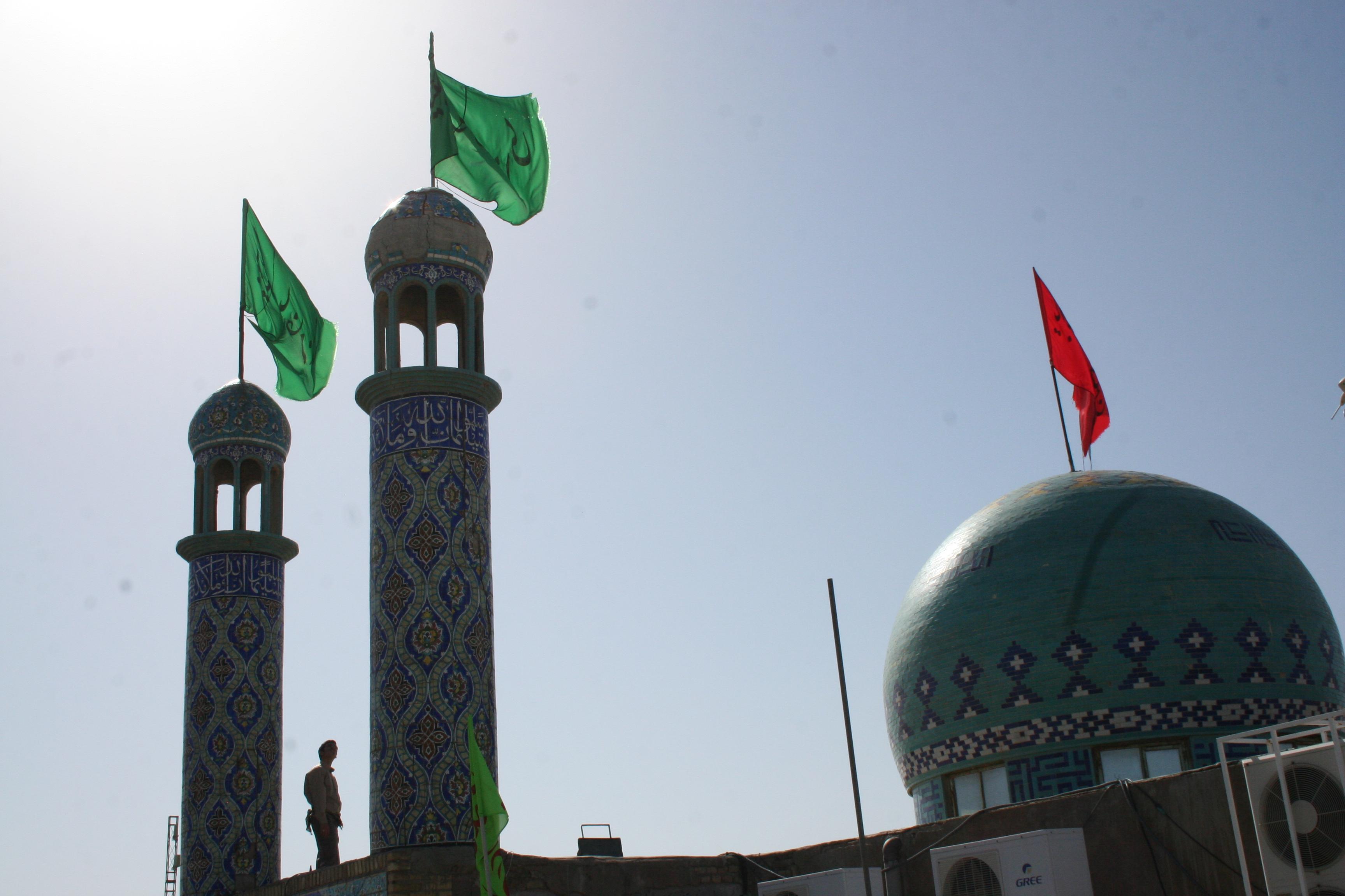 گزارش تصویری یادمان دانشجویی شهدای هویزه | نوروز ۹۴
