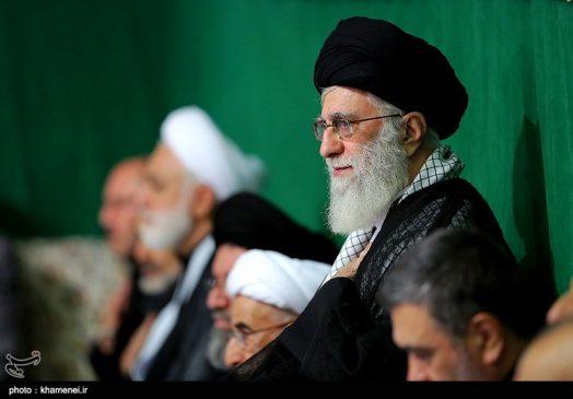 اولین شب عزاداری محرم در حسینیه امام خمینی(ره)