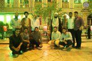 دیدار بسیجیان دانشگاه امام صادق (ع) با پدر شهید حدادیان