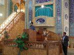 حضور نمایندگان بسیج دانشجویی دانشگاه تهران و امام صادق در تریبون پیش از خطبه های نماز جمعه در شهرستان های پاکدشت و قرچک جهت تبیین و روشنگری در رابطه با مسائل مسلمانان و شیعیان نیجریه و کشمیر