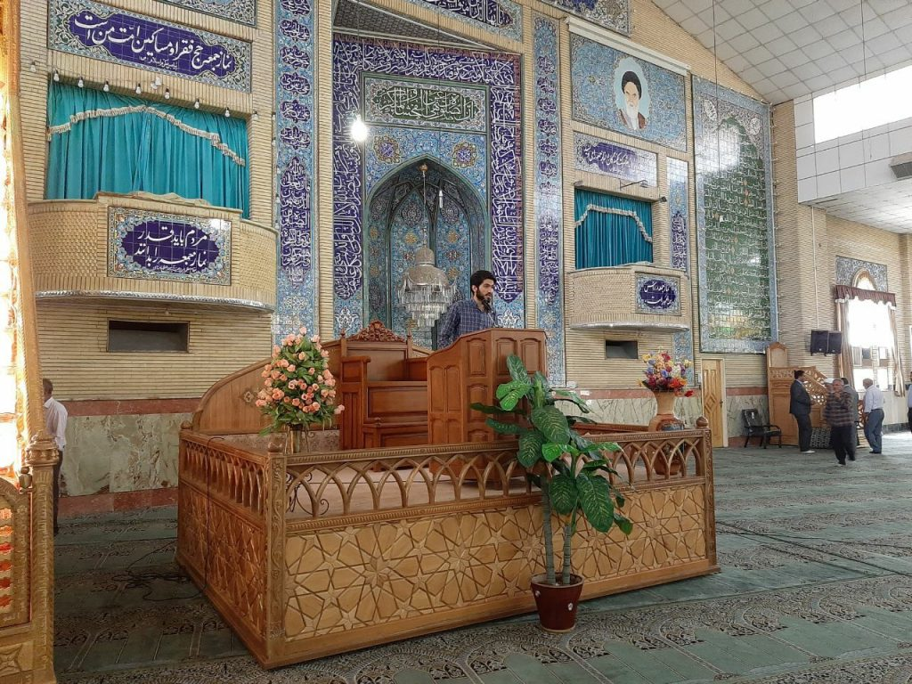 رضا میثمی نماینده بسیج دانشگاه تهران